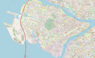 Lines of Vasilyevsky Island