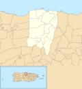 Vega Baja, Puerto Rico locator map.png