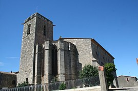 The church of Vendres