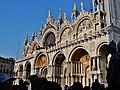 Venezia Basilica di San Marco Fassade 4.jpg