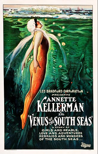 Venus of the South Seas - Film poster