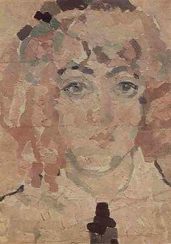 Автопортрет, 1900.