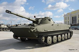 PT-76 1950s amphibious light tank family of Soviet origin