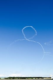 Vertical Cuban 8 performance of Blue Impulse, JASDF.jpg
