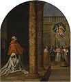 """Vicente Carducho, """"Reconocimiento del cartujo y cardenal San Nicolás Albergati"""" (1632). Cartuja del Paular-Museo del Prado.jpg"""