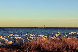 Lakeshore State Park - Image: Viewofmichigan