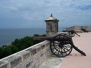 Campeche City - The Fort of San Miguel was built to defend the town against the attack of pirates during the 17th and 18th centuries.