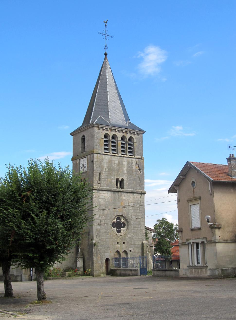 Vigneulles-lès- hattonchâtel-clocher