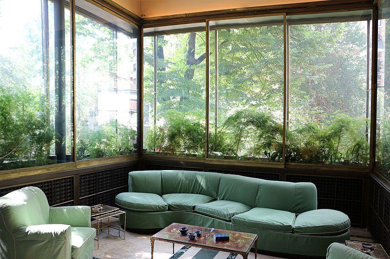 File villa necchi campiglio veranda giardino d 39 inverno - Veranda giardino d inverno ...