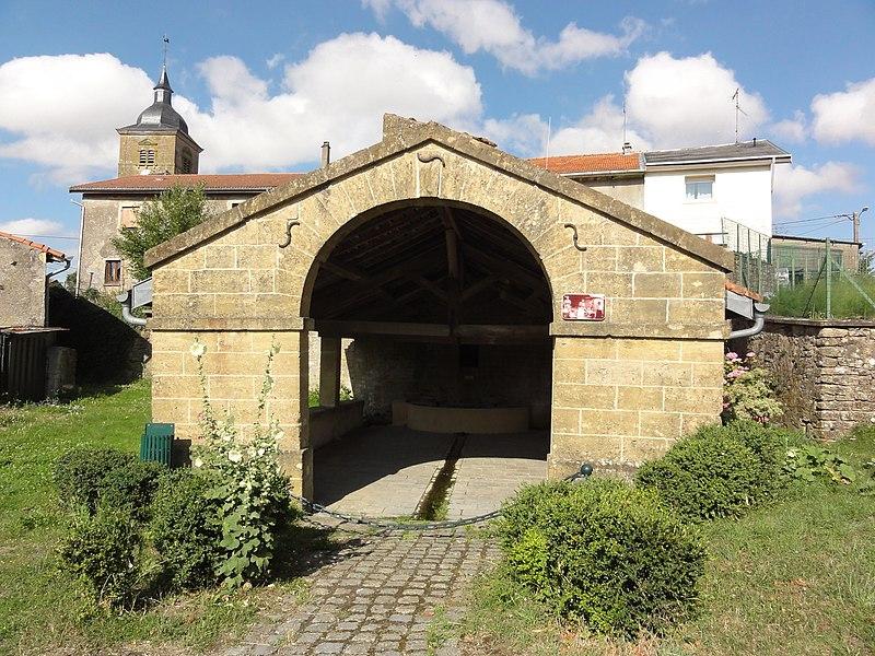 Ville-au-Montois (Meurthe-et-M.) lavoir A
