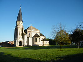 Kerk in Villers-Tournelle