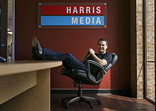 Vincent Harris, CEO of Harris Media, at the Austin office