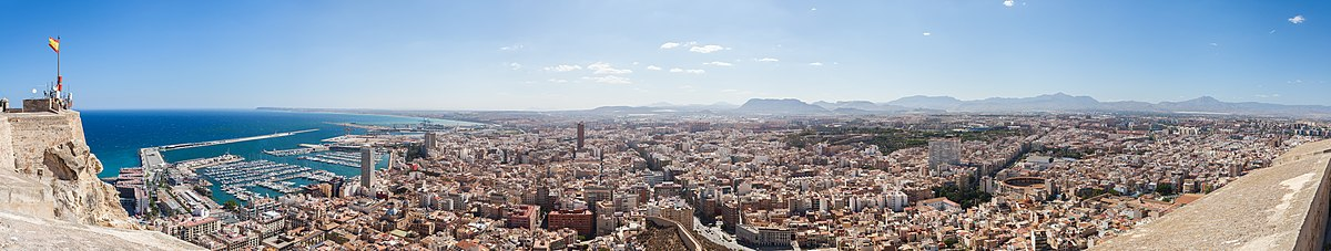 Panorama of Alicante