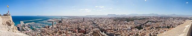 Vista de Alicante, España, 2014-07-04, DD 71-75 PAN.JPG