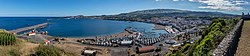 Vista de Praia da Vitória desde miradouro do Facho, isla de Terceira, Azores, Portugal, 2020-07-24, DD 87-95 PAN.jpg