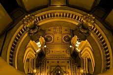 31 - Vista interior del Palacio desde el 4to piso
