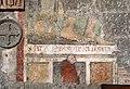 Viterbo, santa maria nuova, interno, resti di affreschi del 1320, 02.jpg