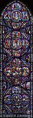 vitrail des miracles de la Vierge de Chartres