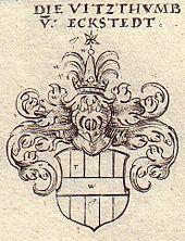 Familienwappen (18. Jahrhundert) (Quelle: Wikimedia)