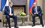 Vladimir Putin and Sauli Niinistö 22.3.2016 in Novo-Ogarevo 01.jpg