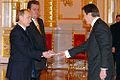 Vladimir Putin with Vincent Mertens de Wilmars.jpg