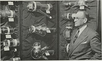 Vladimir K. Zworykin - Zworykin and some of the historic camera tubes he developed