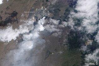 Volcanic Activity at Kilauea 2010-03-19.jpg