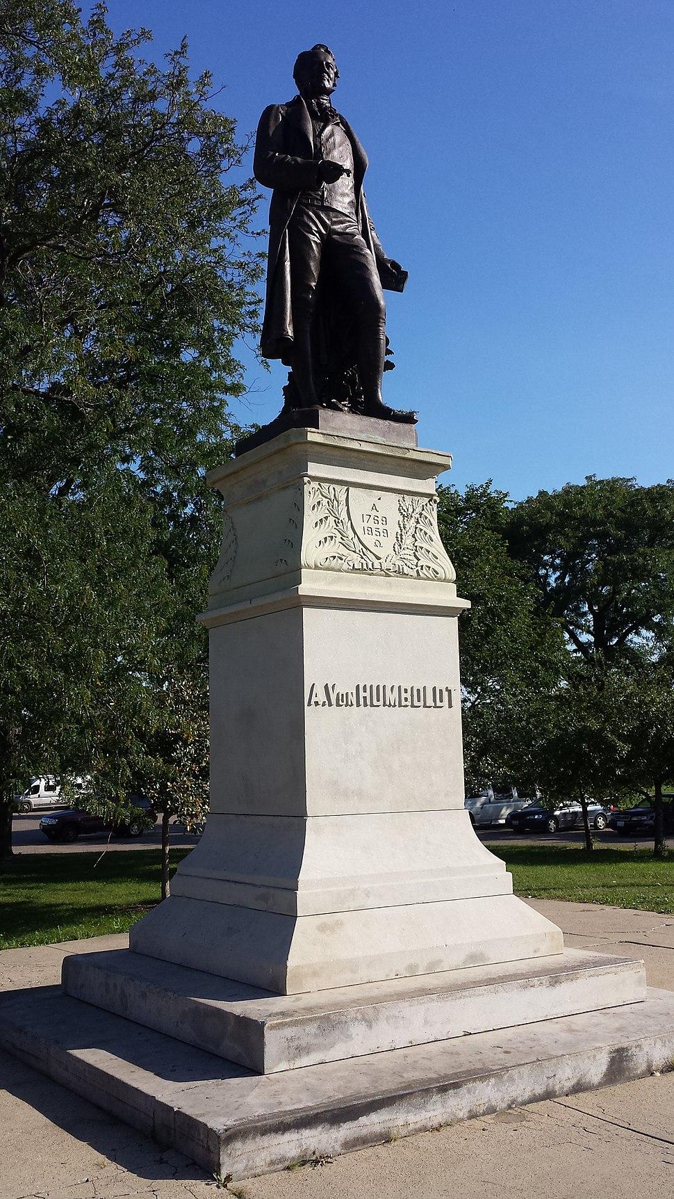 Von Humboldt Statue