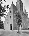 voor- en linker zijgevel van het kasteel - haamstede - 20095539 - rce