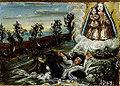 Votivbild Sturz in einen Fluss 1743 Mattsee.jpg