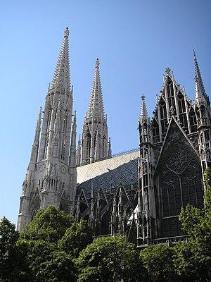 Heinrich von Ferstel - Votivkirche, Vienna