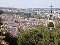 Vue du centre historique de Besançon depuis la Citadelle..JPG
