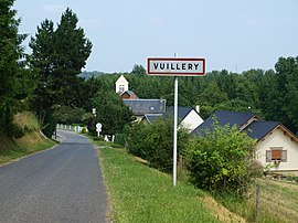 The road into Vuillery