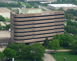 KSCS - The WBAP/KSCS shared facility in Arlington, Texas.