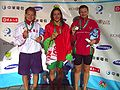 WDSC2007 Day1 Awards Women100Breaststroke Winners.jpg