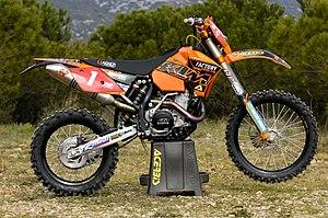 KTM - Samuli Aro's WEC E2 class bike