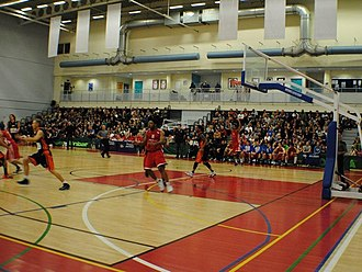 British Basketball League - Image: WISE Arena Bristol