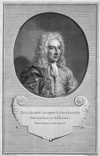 Willem 's Gravesande - Image: W Js Gravesande