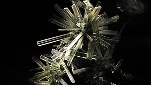 Selenite cluster from Naica mine, Chihuahua, M...