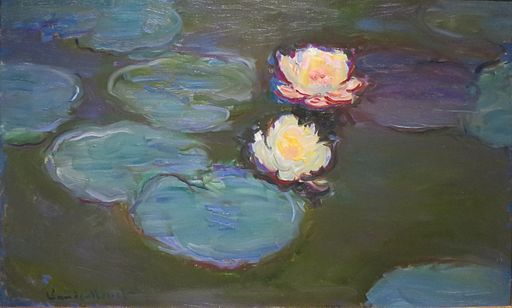 Claude Monet, WLA, lacma, Monet, Nympheas,