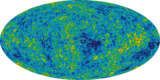 The Cosmic Microwave Background Radiation (from WMAP). False Color/