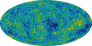 WMAP image of the cosmic microwave background radiation