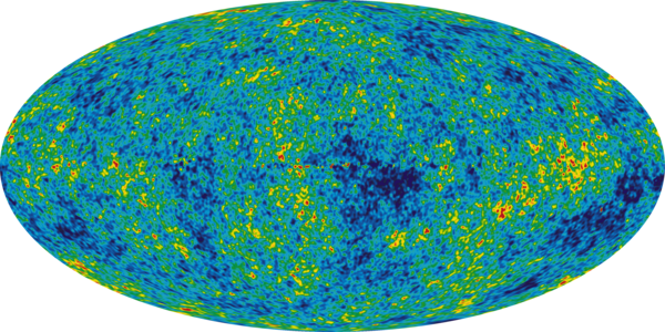 Cosmic backgroung radiation as recorded by COBE