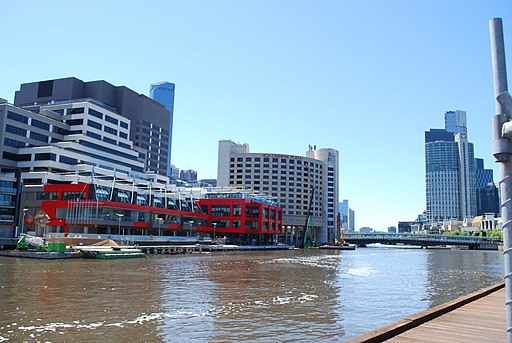 WTC Wharf from South Wharf, Docklands, Melbourne