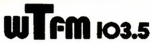 WKTU - The WTFM logo from 1980–1982