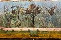 Wall painting - garden (viridarium) - Rome (villa of Livia at Via Flaminia) - Roma MNR PMaT - 04.jpg