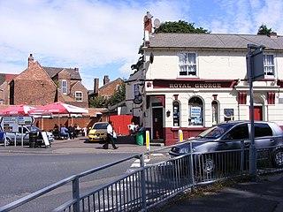 Willenhall Human settlement in England