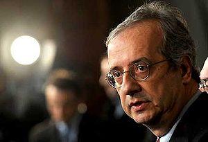Italiano: L'On. Walter Veltroni, per la rappre...