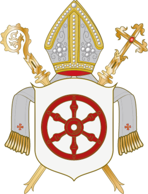 Prince-Bishopric of Osnabrück - Image: Wappen Bistum Osnabrück