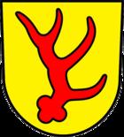 Das Wappen von Forst (Lausitz)